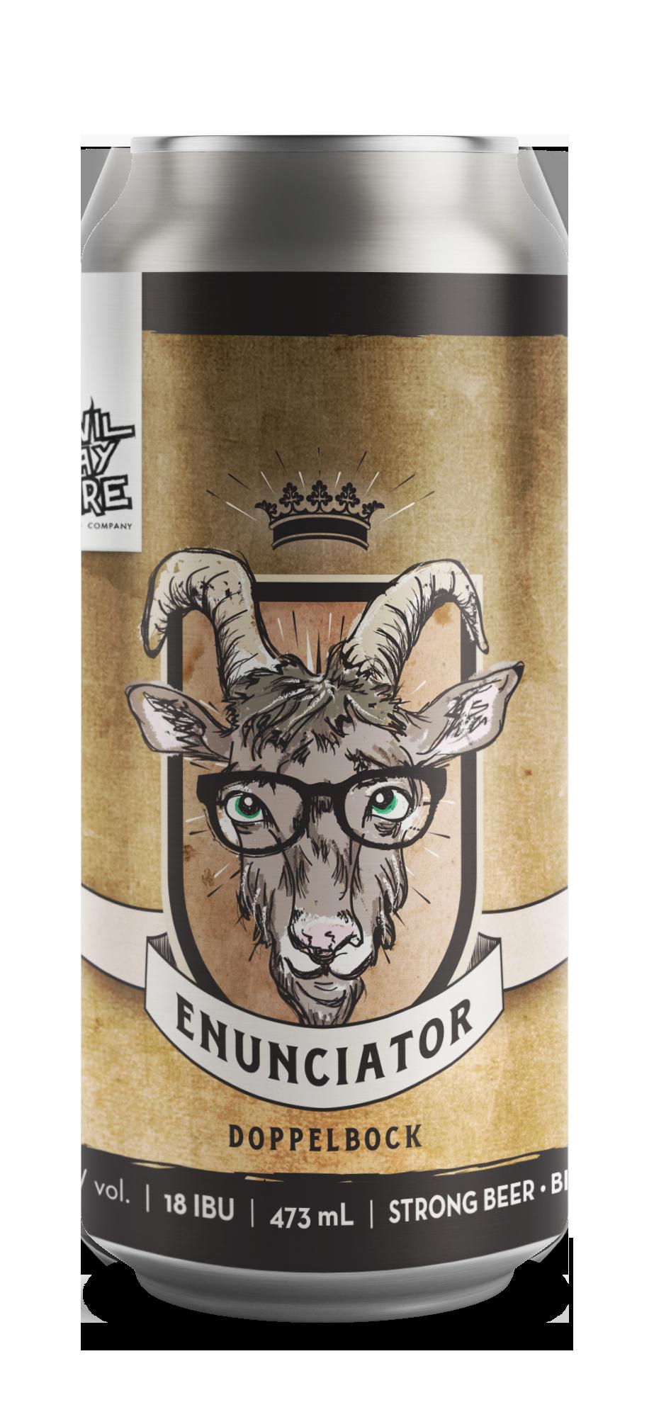Can of Enunciator
