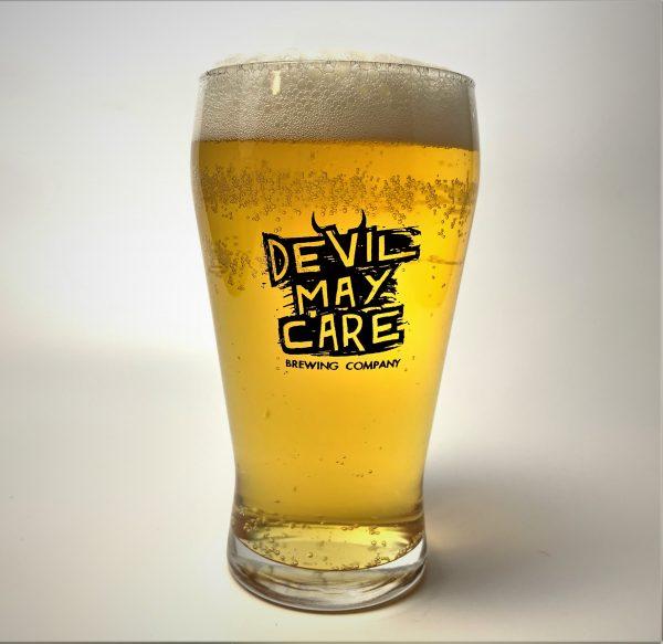 DMC 16oz Crown Viking glass